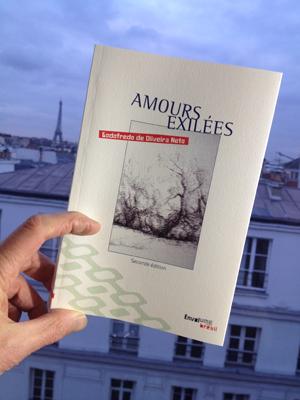 Amours exilées de Godofredo de Oliveira Neto - éditions Envolume