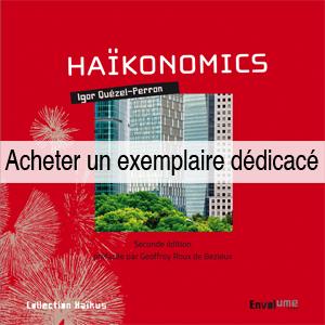 Livre en dédicace Haïkonomics