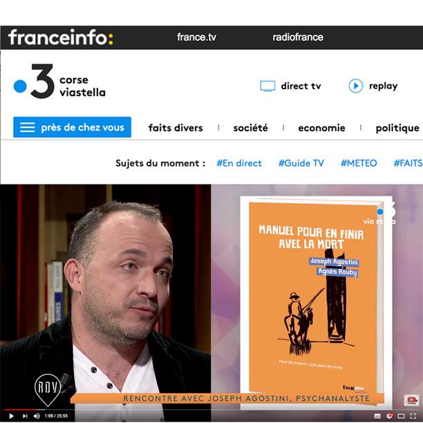 Joseph Agostini Pour en finir avec la mort France 3