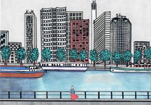A nu Paris d'Igor Quezel-Perron ilustration de Louise Hourcade